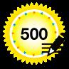 500 Posts