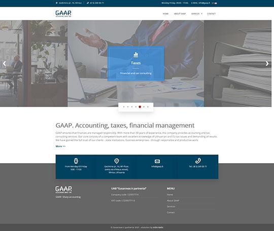 GAAP. Sharp accounting